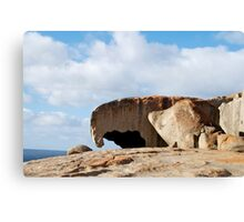 Rock Mother and Child Canvas Print