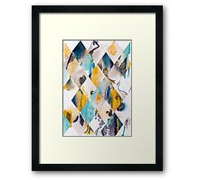 Diamonds I Framed Print