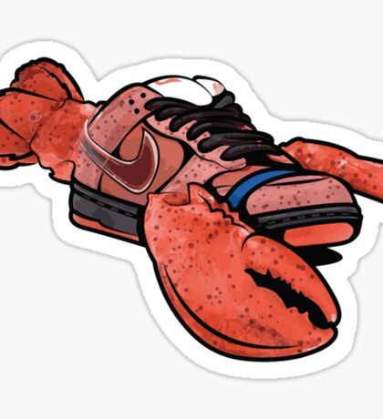 dunk red lobster sb Sticker