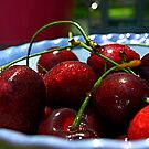 Sometimes life just IS a bowl of cherries...... by Barbara Gerstner