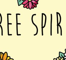 Free Spirit Daisies Sticker