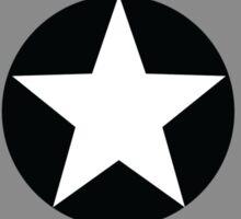 Asexual Flag Cap Shield Sticker