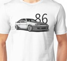 AE86 w/ lettering Unisex T-Shirt