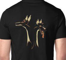 2 headed Stag Dragon Unisex T-Shirt