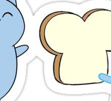 Catbug and Jellykid Sticker