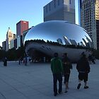 Cloud Gate, Evening, Chicago - Summer 2012 by Pilgrim