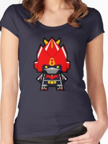 Mekkachibi Voltes V Women's Fitted Scoop T-Shirt