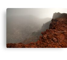 The Red Crater, Mt Ngauruhoe Canvas Print