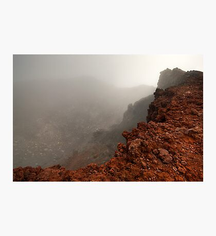 The Red Crater, Mt Ngauruhoe Photographic Print