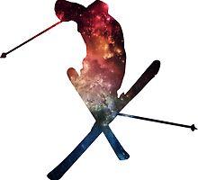 Stellar Skier by kaelynnmara