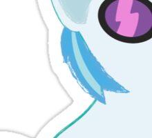 Baby My Little Ponies DJ Pon3 Sticker