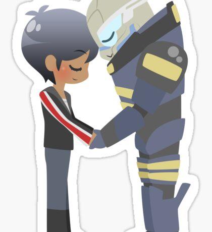 Mass Effect - Shakarian Head Bump (Commission ver. 2) Sticker