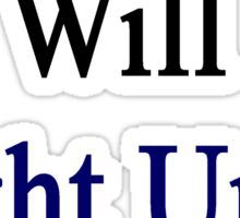 This Greek Will Fight Until The End  Sticker