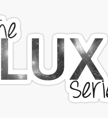The Lux Series Fanmade Logo - No Drop Shadow Sticker