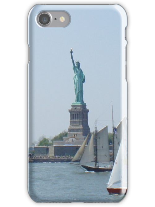 Statue of Liberty iPhone Case 4/4s by jesse421