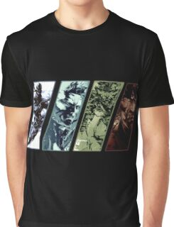 Metal Gear Solid Evolution Graphic T-Shirt