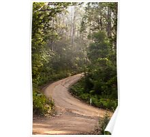 Allonnah Road, Bruny Island Poster