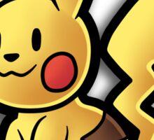 Paper Pikachu Sticker