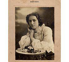 Rococo Beauty Photographic Print