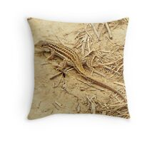 Spiny-footed Lizard Throw Pillow