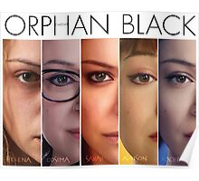 Orphan black (w/ title) Poster
