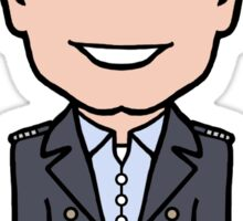 Captain Jack Harkness (sticker) Sticker