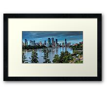 The River Commute Framed Print