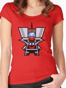 Mekkachibi Mazinger Z Women's Fitted Scoop T-Shirt