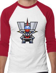 Mekkachibi Mazinger Z Men's Baseball ¾ T-Shirt