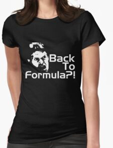 Back to Formula?! Womens Fitted T-Shirt
