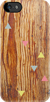 Wood & Triangles by chelsgus