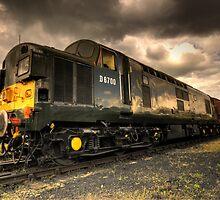Class 37 Pioneer by Rob Hawkins