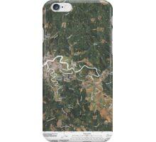 USGS Topo Map Washington State WA Raymond 20110406 TM iPhone Case/Skin