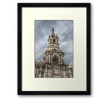Basilica Cathedral of Arequipa Framed Print