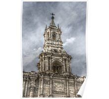 Basilica Cathedral of Arequipa Poster