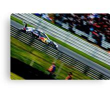 Miguel Molina DTM - Brands Hatch 2012 Canvas Print
