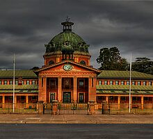Colonial Elegance - Reworked (45 Exposure HDR Panorama) - Bathurst Court House c1880, Bathurst, NSW Australia - The HDR Experience by Philip Johnson