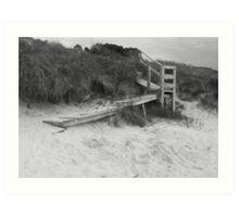 Dune stairway Art Print