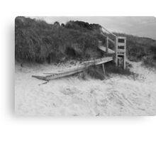 Dune stairway Canvas Print