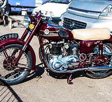 Vintage Ariel Motorcycle by Paul Howarth