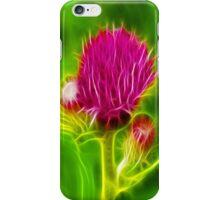Thistle Fractilius iPhone Case/Skin