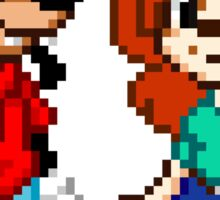 Goofy Movie - Max and Roxanne Pixel Art Sticker