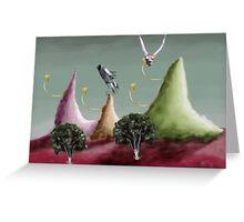 oh dear a landscape Greeting Card