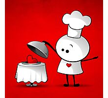Cute Chef Photographic Print