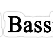 #1 Bassist  Sticker