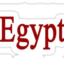 I Will Protect Egypt Until The End  Sticker