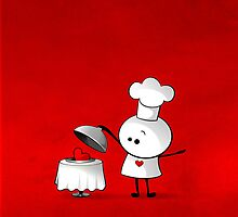 Cute Chef by Media Jamshidi