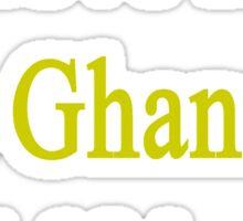 I Love My Hot Ghanaian Girlfriend Sticker