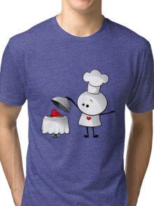 Cute Chef Tri-blend T-Shirt
