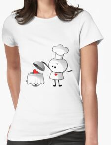 Cute Chef Womens Fitted T-Shirt